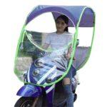 【雨の日も快適】超絶便利で目立って安全なバイク用後付け屋根!